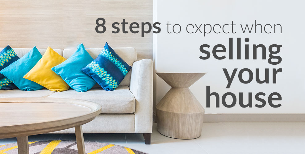 8 steps to sell your house